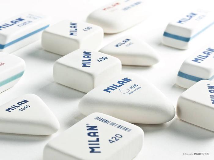 MILAN  밀란 캐릭터 4520 사각지우개(랜덤) - 펜스테이션, 1,200원, 지우개/수정액, 베이직 지우개