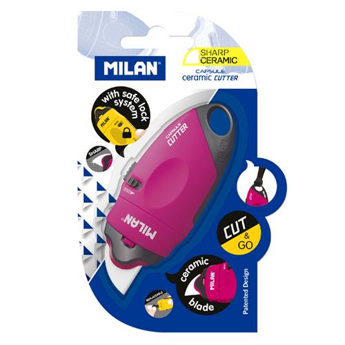 MILAN 밀란 캡슐 세라믹 커터 -블러스터 포장 - 펜스테이션, 12,000원, 커터기/가위, 사무용커터기