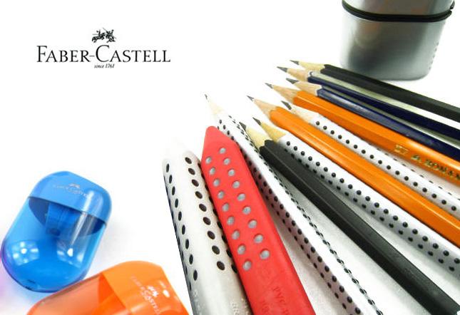 Faber-Castell 파버카스텔 핸들 연필깎이(중) - 펜스테이션, 9,500원, 필기구 소품, 연필깎이